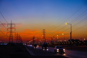 Pylons & traffic