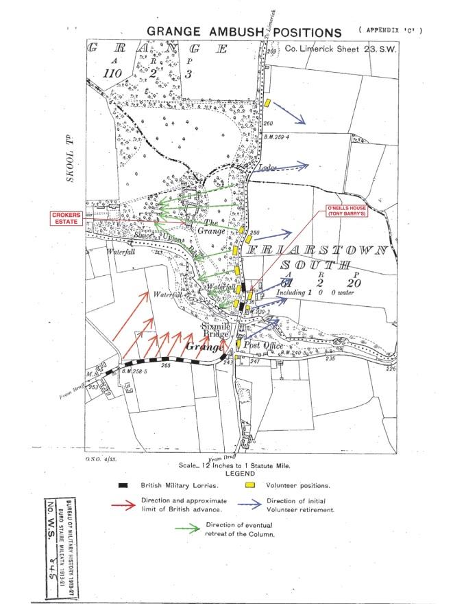 Map - Grange Ambush